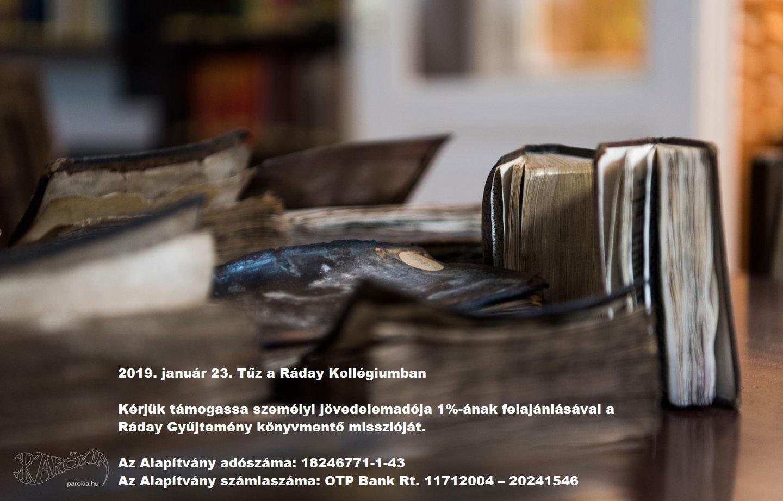 Ráday Gyűjtemény könyvmentő misszió